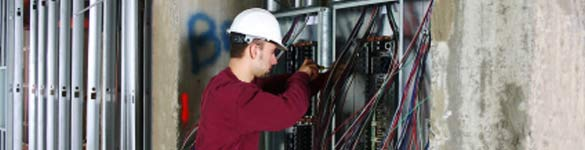 construction electricians banner image